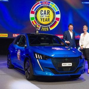 "Der neue Peugeot 208 ist ""Car of the Year 2020""!"