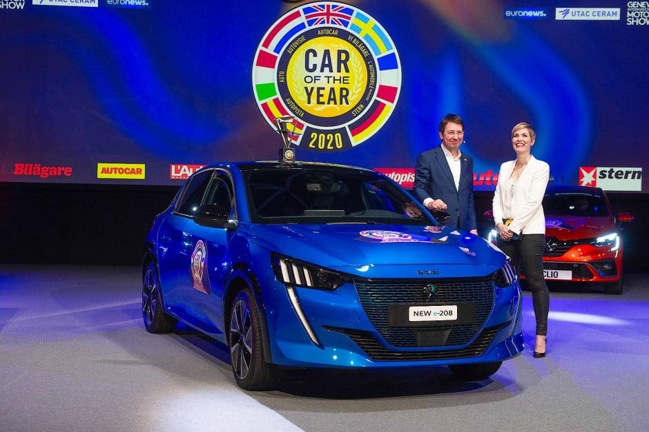 """Artikel Bild Der neue Peugeot 208 ist """"Car of the Year 2020""""!"""